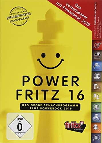 Power Fritz 16 - Das perfekte Bundle: Fritz 16 + Powerbook 2019 -