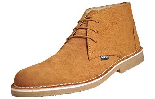 Lambretta ,  Herren Desert Boots, Tan - Carnaby 2 - Größe: 41.5 Desert Boot-tan
