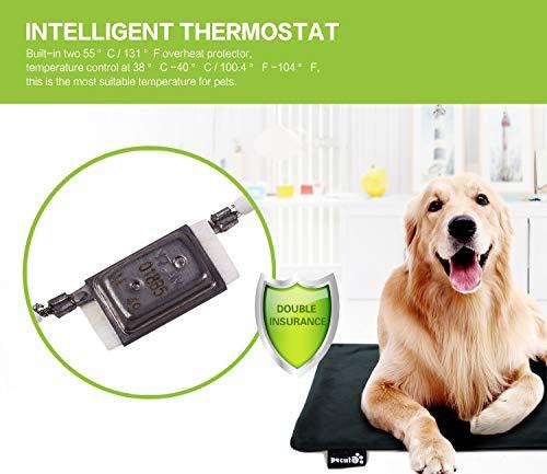 Zoom IMG-3 pecute tappetino riscaldante per cane