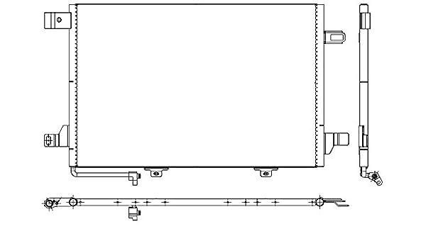 8FC 351 301-674 HELLA condenseur climatisation