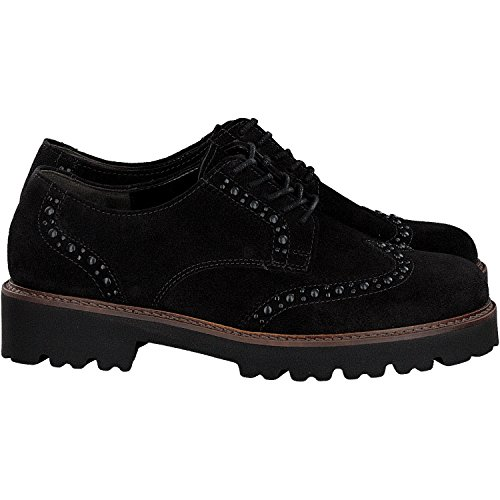 CHUNKY Noir LACE SHOE GOODWOOD GABOR UP O6U17w