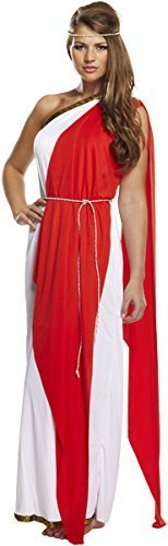 fancy dress roman greek lady fits 10-14 by Best Dressed
