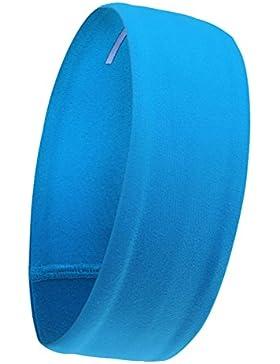 Frcolor Venda De Pelo Diadema Accesorios Para El Cabello para el yoga en ejecución (azul)
