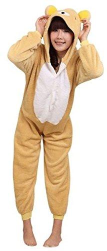 WOWcosplay Pigiama Costume di Halloween, personaggi di cartoni animati Kuma