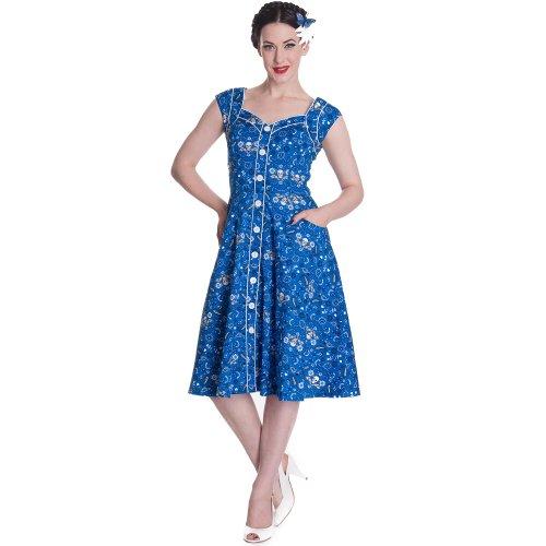 «cOLORADO robe robe blue bunny Bleu - Bleu