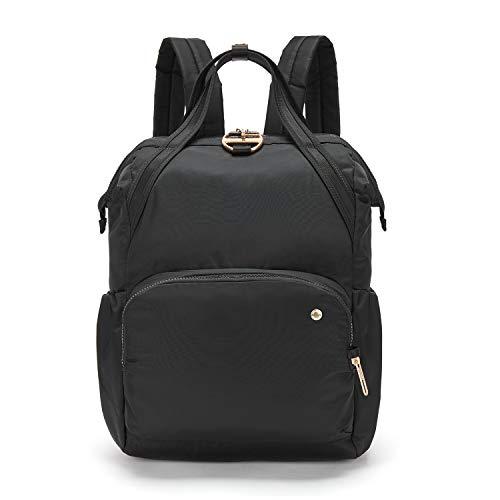 Pacsafe Citysafe CX, Daypack,Henkeltasche, Rucksack mit Diebstahlschutz, Schwarz/Black