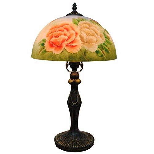Decorazioni di natale continental rosa antico â dipinti lampade soggiorno studio camera da letto art deco lampade da tavolo