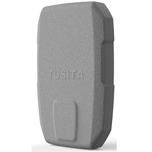 TUSITA Hülle für Garmin Striker 4 4cv 4dv (NOT for Striker Plus 4 4cv) - Silikon Schutzhülle Skin - Handheld GPS Navigator Zubehör Handheld-fishfinder