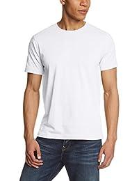 Camel Active Herren T-Shirt ROUND-NECK 1/2, Einfarbig
