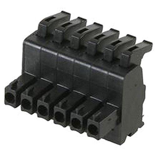 CONN'R PCB-PLG, 3,8 mm, 6P-Stecker Terminal Blocks Conn Block