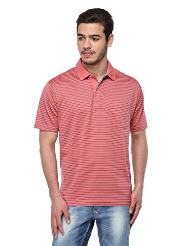 Classic Polo Men's Striped Authentic Polo T-shirt