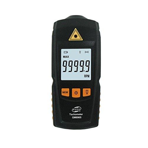 Pegcdu GM8905 Tachometer-ber¨¹hrungs RPM Tach Test-Meter-Motordrehzahlmesser Digital-LCD-Tester