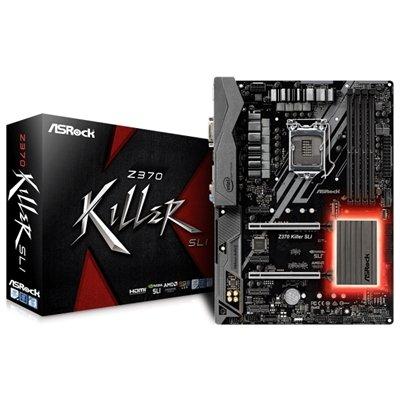 Asrock Z370 Killer Scheda Madre, DDR4 RAM, Nero