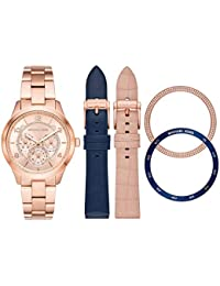 12c33c494dfa Michael Kors Reloj Analógico para Mujer de Cuarzo con Correa en Acero  Inoxidable MK3983