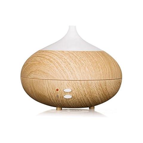 XJP 300ml en bois à ultrasons Silencieux Cool Mist humidificateur aromathérapie huile essentielle Diffuseur avec lumières LED Couleur Change sans arrêt automatique auto pour salon