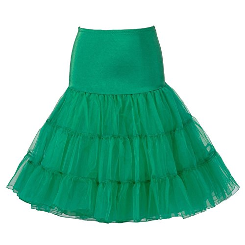 Queenshiny® Retro Underskirt/50s Swing Vintage Petticoat/Rockabilly Tutu/Fancy