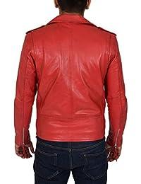 Amazon.es: chaquetas rojas - House Of Leather / Hombre: Ropa