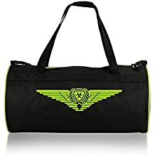 AWG - All Weather Gear Synthetic 10 Litres Black Duffle Gym Bag