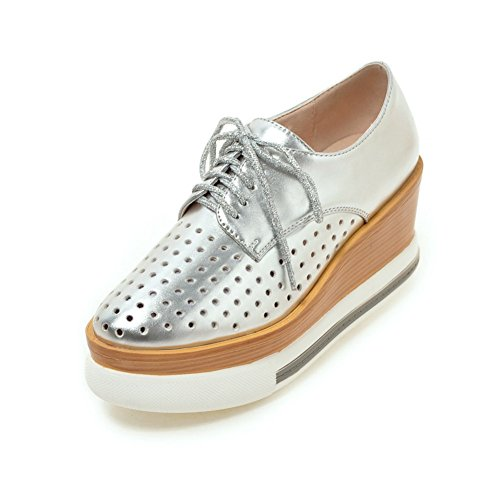 Spring Chaussures pour femmes/Tête creuse strap chaussures plate-forme/profonde A