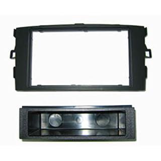 Autoleads FP-11-12 Car Audio Single DIN Facia Adaptor for Toyota Auris - Black