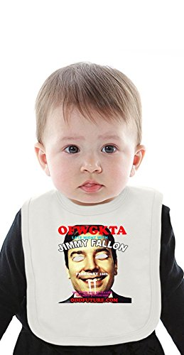 OFWGKTA Late Night With Jimmy Fallon Organic Baby Bib With Ties Medium