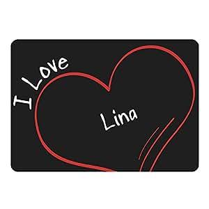 Tapis de souris modern love lina noir