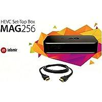 MAG 256 Latest Original Linux IPTV/OTT Box - Fast Processor, faster than MAG 254-Genuine Original Box From Infomir