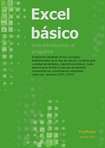Excel básico: Una introducción al programa Excel por Puri Ribes