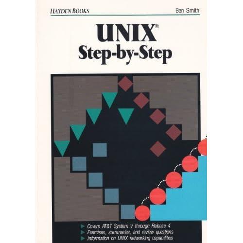 Unix: Step by Step by Ben Smith (1990-12-01)