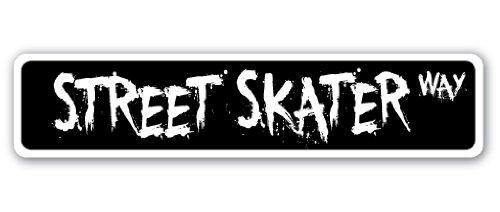 Street Skater Street Sign Skaten Skate Rampe Skating-Roller | | 45,7cm Breit - Roller Skating-filme