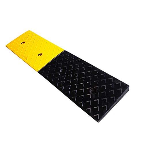 Z-Ramps mat Draussen Die Mall-Garage-Dreieck-Auflage, allgemeine Straßen-Schritt-Auflage-dauerhafte Fahrzeuggummirampen-Fabrik-Parkplatz-Laden-Rampen Bordsteinkanten (Size : 100 * 25 * 4cm)