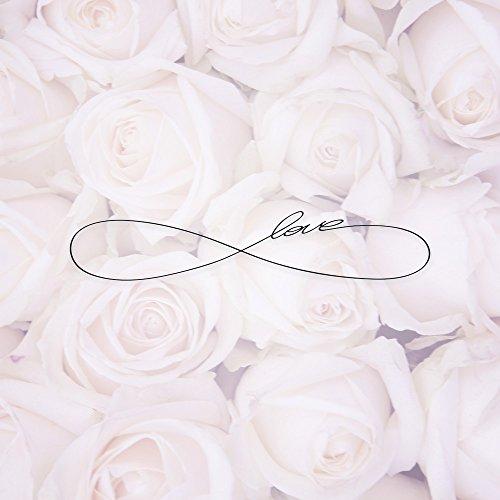 Apple iPhone SE Case Skin Sticker aus Vinyl-Folie Aufkleber Eternal Love Spruch Rosen Liebe DesignSkins® glänzend