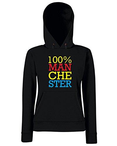 T-Shirtshock - Sweats a capuche Femme WC0168 100% manchester Noir