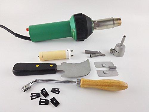 Netzspannung Luft (Fußboden-Schweiß-Set, 1600W heiße Luft, Taschenlampe, Kunststoff, Schweißpistole)