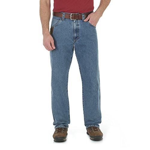 Wrangler Herren Riggs Workwear Big & Tall Cool Vantage Carpenter Jeans, Light Stone, 44W / 32L Denim Carpenter Jeans