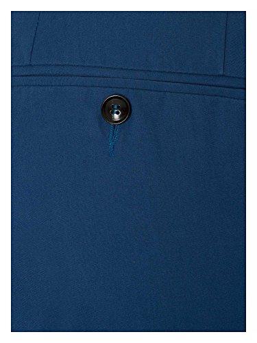 TRUSSARDI Herren Businesshose Blau