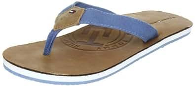 Tommy Hilfiger FRANCIS 6A FU56813732, Unisex - Kinder Sandalen/Zehentrenner, Blau (CHAMBRAY BLUE 490), EU 39