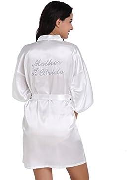 BOYANN Madre Della Sposa Cristallo Vestaglie e Kimono Pigiami e Camicie da Notte