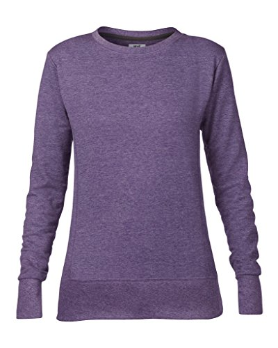 Anvil women ´ s 72000L french terry sweat-shirt Violet - Heather Purple
