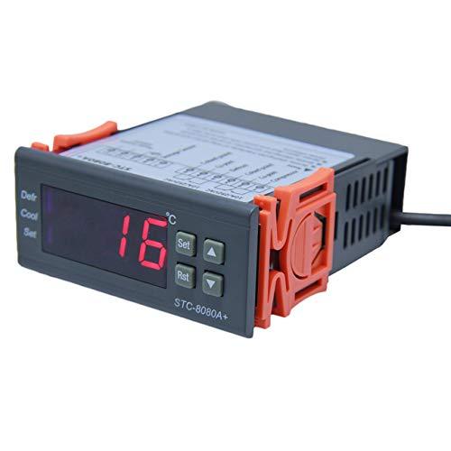 Ballylelly-STC-8080A Kühlung Temperaturregler Automatische Zeitsteuerung Abtauung Intelligente Thermostat Alarmfunktion 12 V 110 V 220 V von -