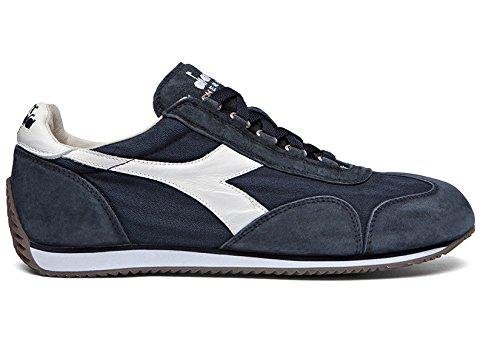 DIADORA PATRIMONIO hombre bajas zapatillas de deporte equipe STONE WASH 12 201.156988 60062 44 Blu / bianco
