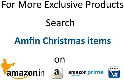 AMFIN® 30 Pcs. Big Size Decoration Item (Suitable for ( 4ft,5ft 6ft,7ft,8ft ) Christmas Mix Item for Xmas Party Hanging Ornament Christmas Decoration Toy Years Home Party Decor -Christmas Box