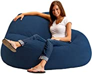 COMFY 2724328789970 Seude Bean Bag, Blue