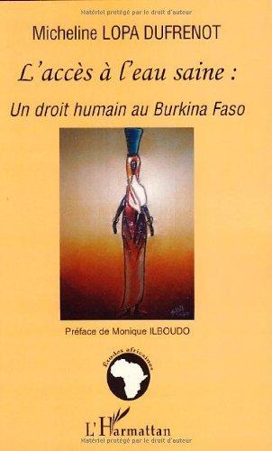 L'accs  l'eau saine : un droit humain au Burkina Faso
