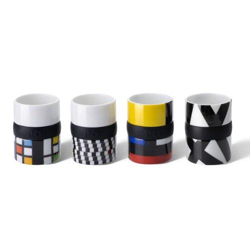 Espresso-Tassen, 4er Set RING thumbnail