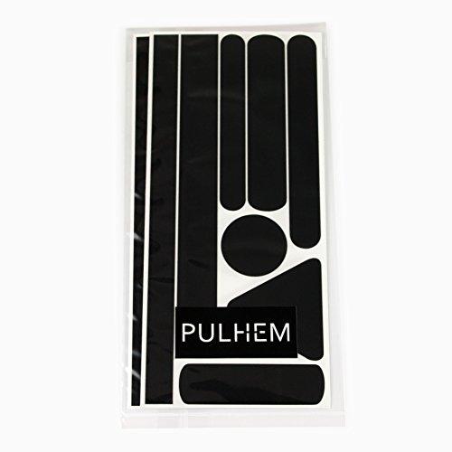 Preisvergleich Produktbild PULHEM reflektierendes Reflex-Aufkleber Set16 aus Reflexfolie schwarz