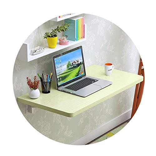 Wandklapptisch Wandtisch Klapptisch MDF Esstisch Schreibtisch Küchentisch Kindermöbel Laptoptisch Wandtisch Klappbar Wandtisc Wandmontierter Tisch Computertisch, 100KG Belastbar(C60×50cm/23.6×19.7in)
