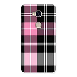 Neo World Classic Check Back Case Cover for Huawei Honor 5X