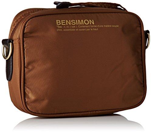 Bensimon - Xs Bag, Borsa a tracolla Donna Marrone (Caramel)