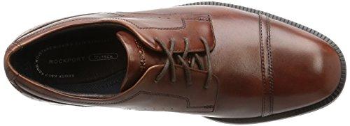 Rockport Herren Dressports Modern Captoe Schnürhalbschuhe Braun (New Brown Lea)